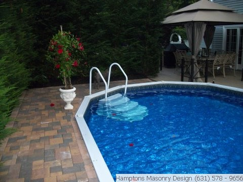 Licensed pool patio contractors hamptons long island for Pool design hamptons