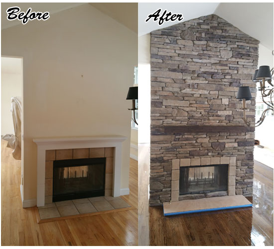 stone facing fireplaces hamptons long island ny