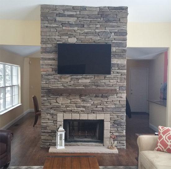 Indoor Stone Fireplace Indoor Stone Fireplace Kits Home