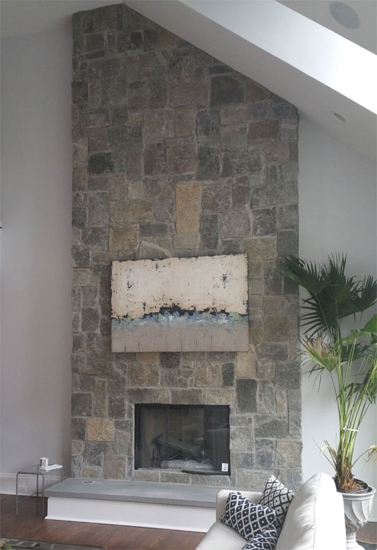 Fireplace Construction Stone Fireplace Design Hamptons