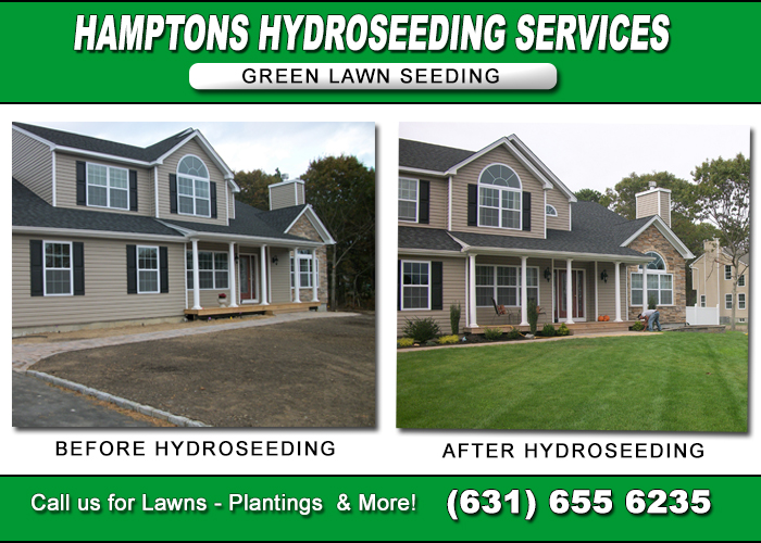 Hydroseeding Lawn Services Of Hamptons Long Island