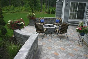 Blue Stone Patios Stone Pavers Patios Patio Contractors Of - Stone patio design