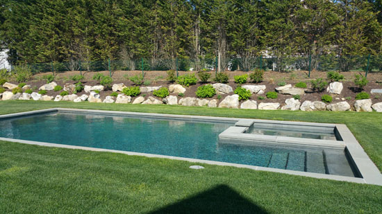 Hamptons landscape design construction for Pool design hamptons