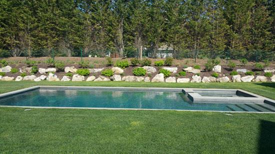 Great Hamptons Landscape Design Company New Construction