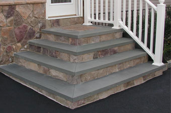 Concrete, Bluestone, Custom Paver Steps & Stoops All Step Designs and Stone  Patterns - Servicing Hamptons Long Island