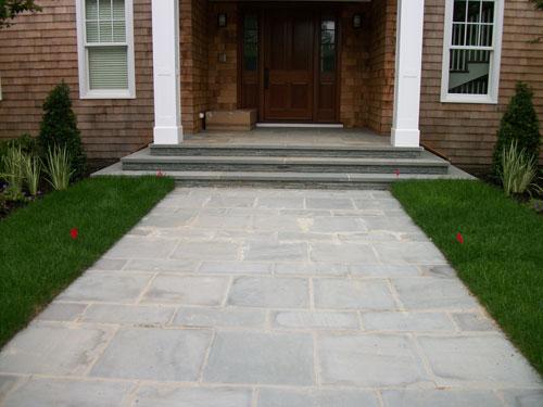 Blue Stone Stone Walkways Walkway Design Contractors